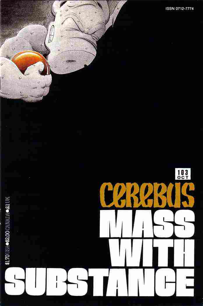 Cerebus the Aardvark comic issue 103