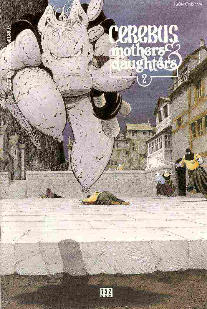 Cerebus the Aardvark comic issue 152