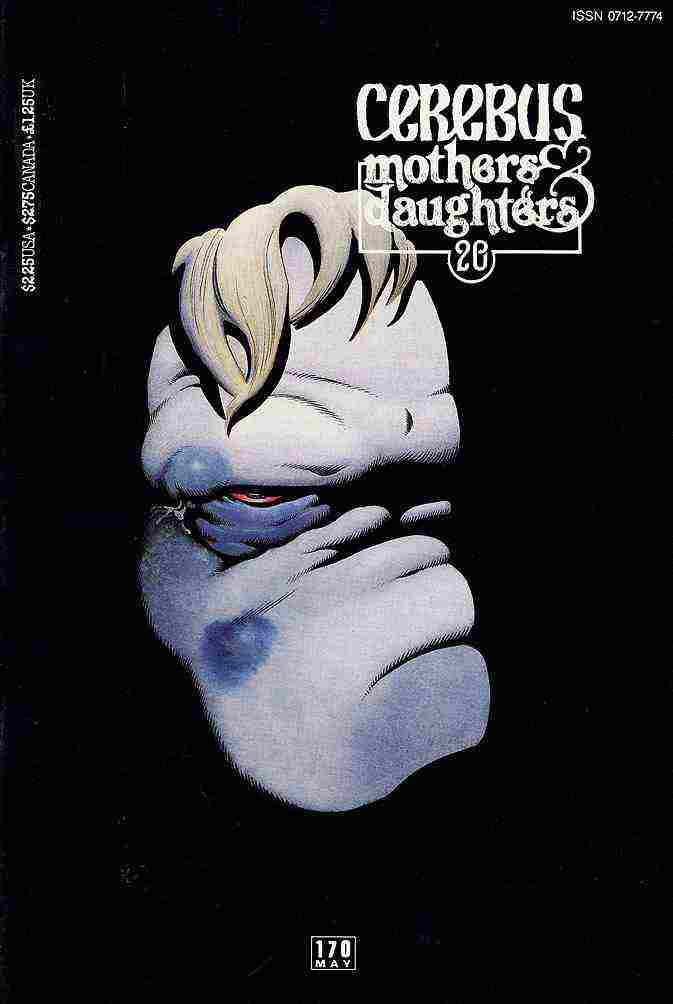 Cerebus the Aardvark comic issue 170