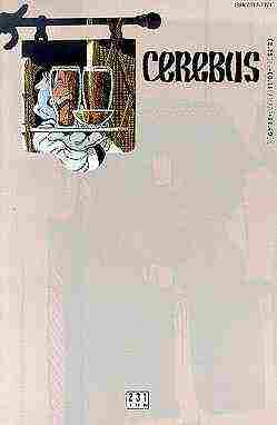 Cerebus the Aardvark comic issue 231