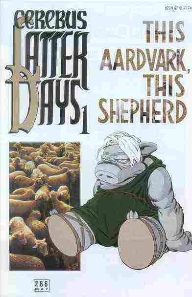 Cerebus the Aardvark comic issue 266