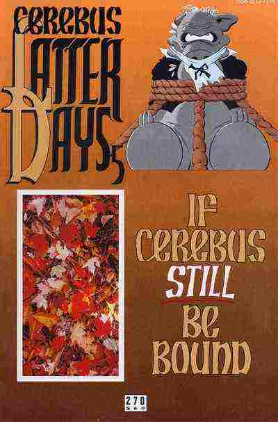 Cerebus the Aardvark comic issue 270