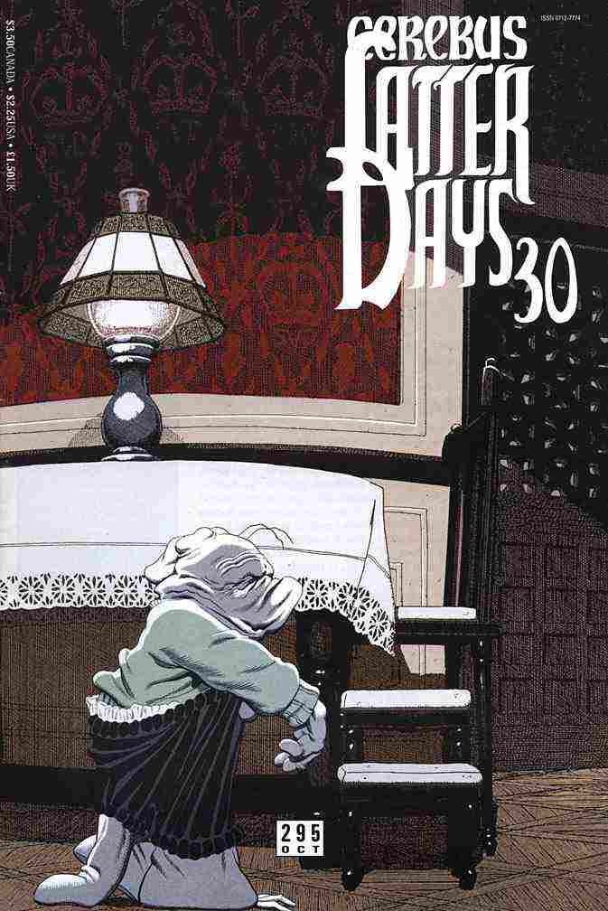 Cerebus the Aardvark comic issue 295