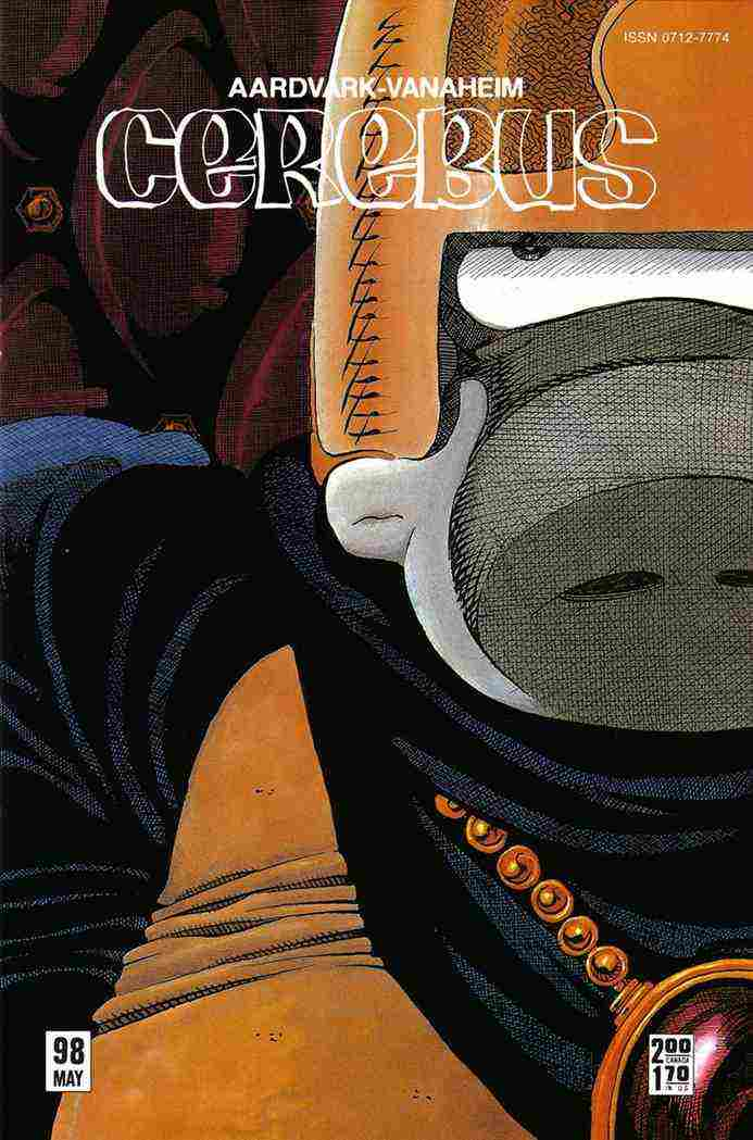 Cerebus the Aardvark comic issue 98