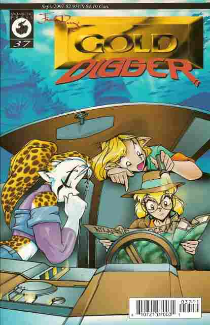 Gold Digger (2nd Series) comic issue 37
