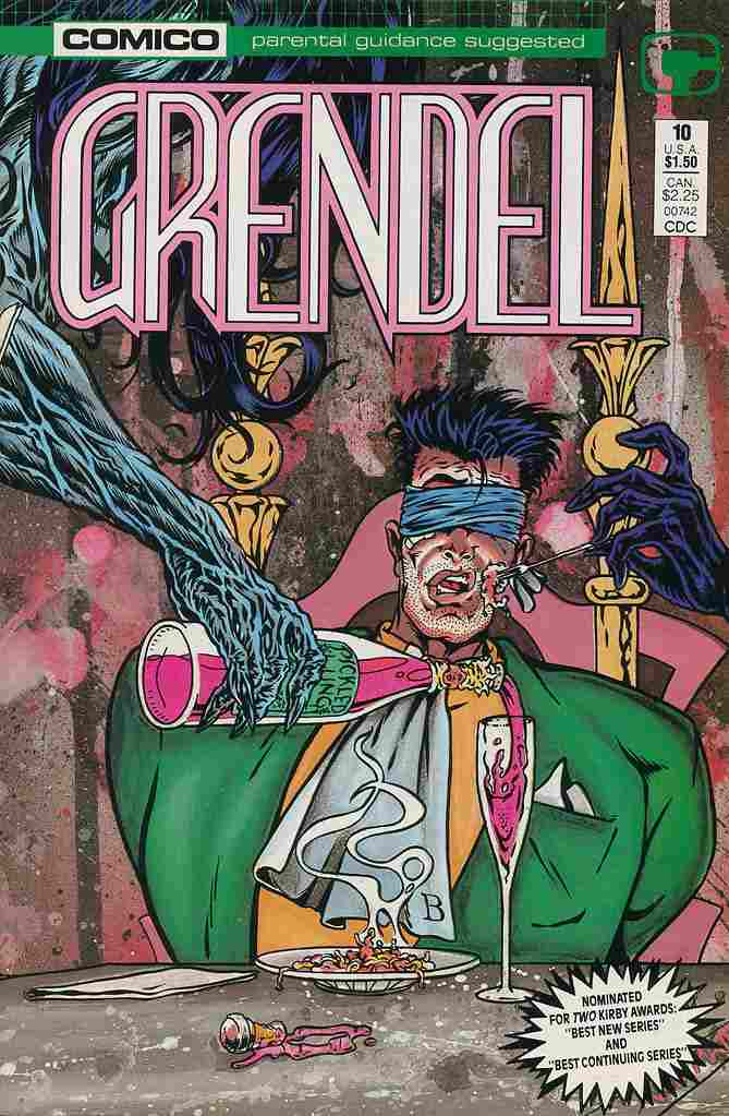 Grendel (2nd Series) comic issue 10