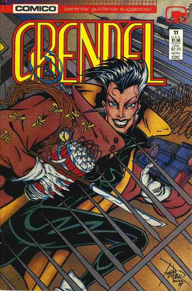 Grendel (2nd Series) comic issue 11