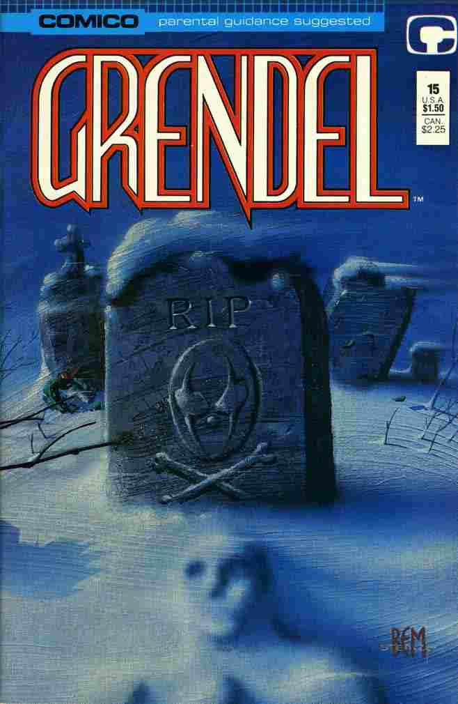Grendel (2nd Series) comic issue 15