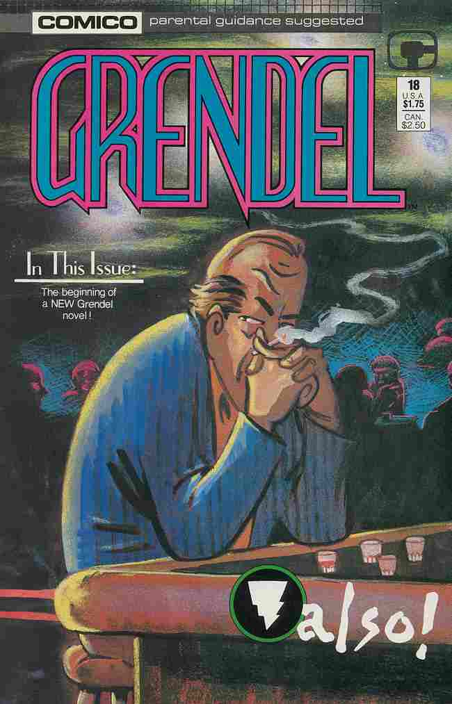 Grendel (2nd Series) comic issue 18