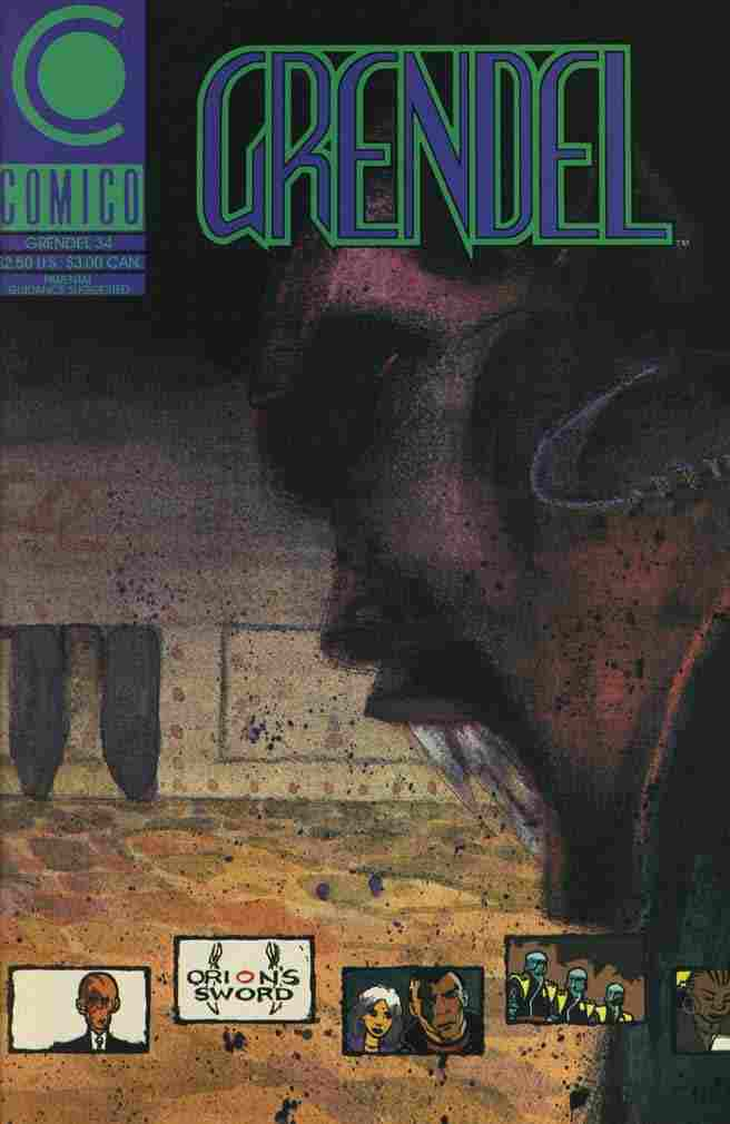 Grendel (2nd Series) comic issue 34