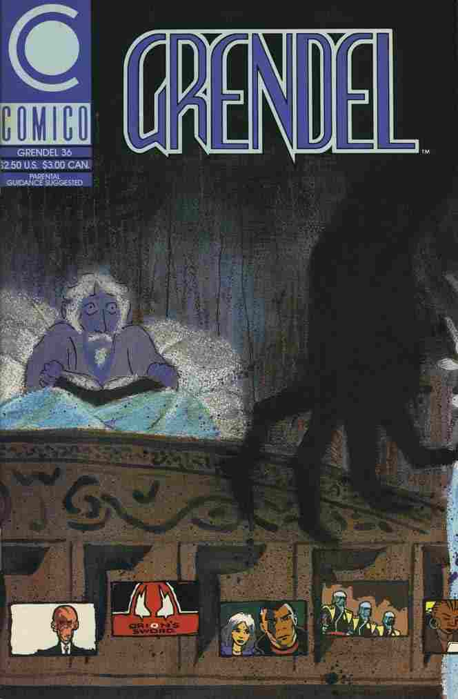 Grendel (2nd Series) comic issue 36