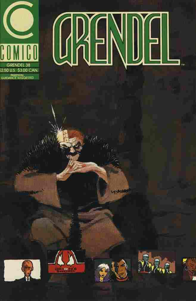 Grendel (2nd Series) comic issue 38