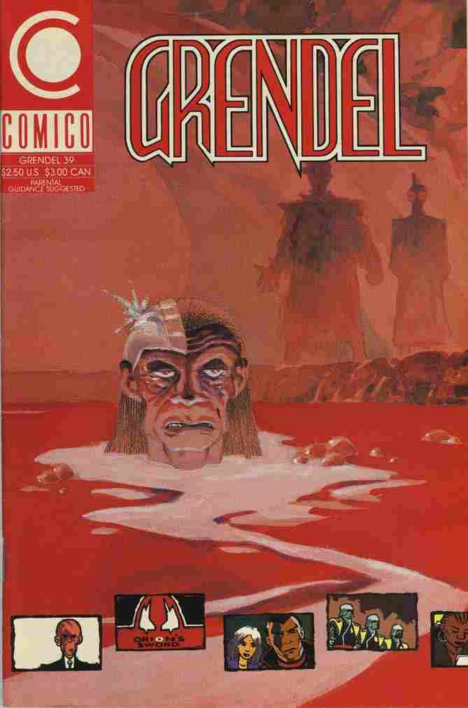 Grendel (2nd Series) comic issue 39