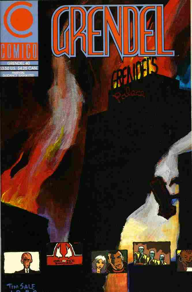 Grendel (2nd Series) comic issue 40