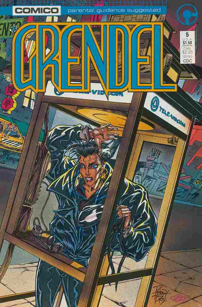 Grendel (2nd Series) comic issue 5
