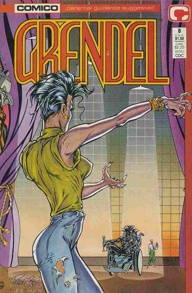 Grendel (2nd Series) comic issue 8