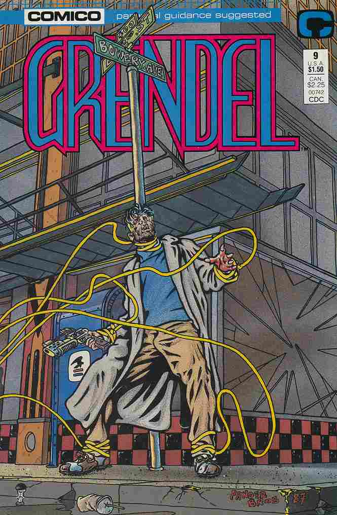 Grendel (2nd Series) comic issue 9
