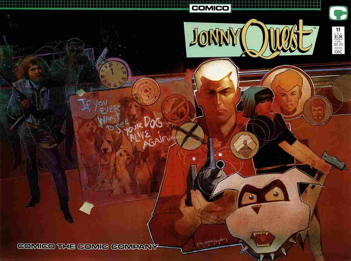 Jonny Quest (Comico) comic issue 11