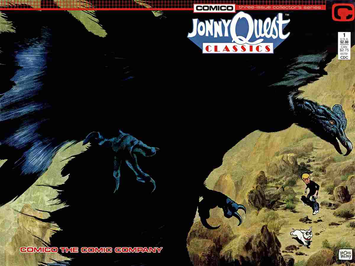 Jonny Quest Classics comic issue 1