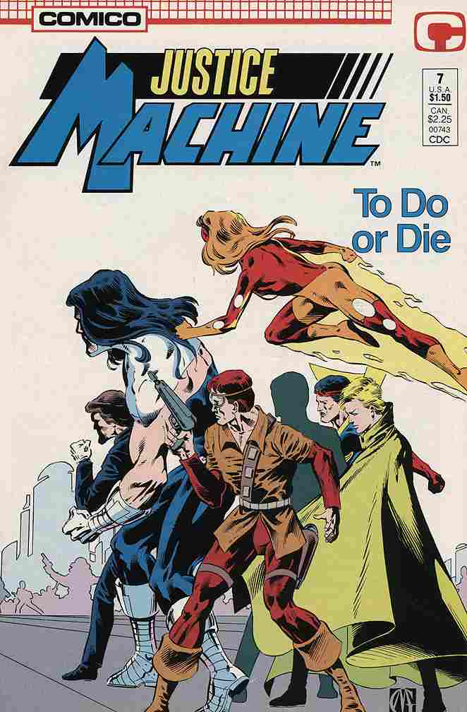 Justice Machine (Comico) comic issue 7