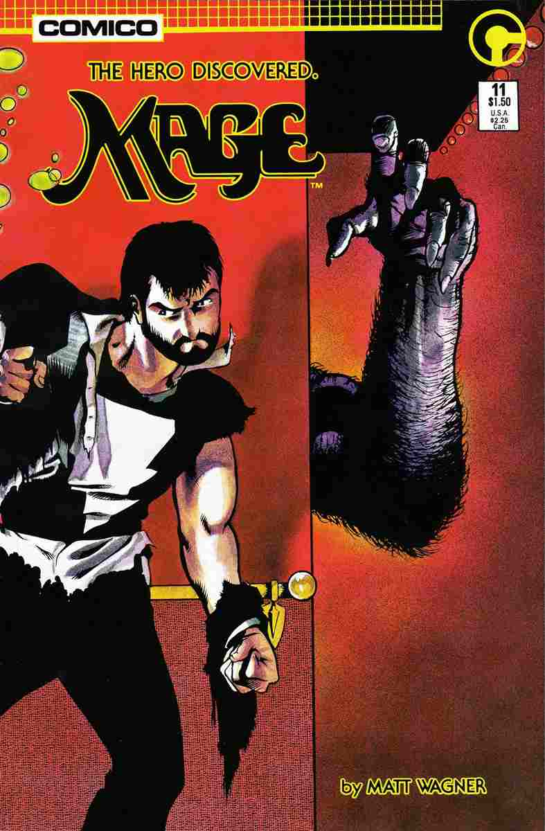 Mage comic issue 11