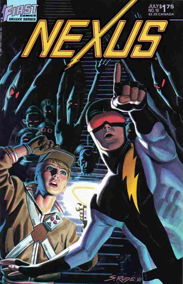 Nexus (Vol. 2) comic issue 10