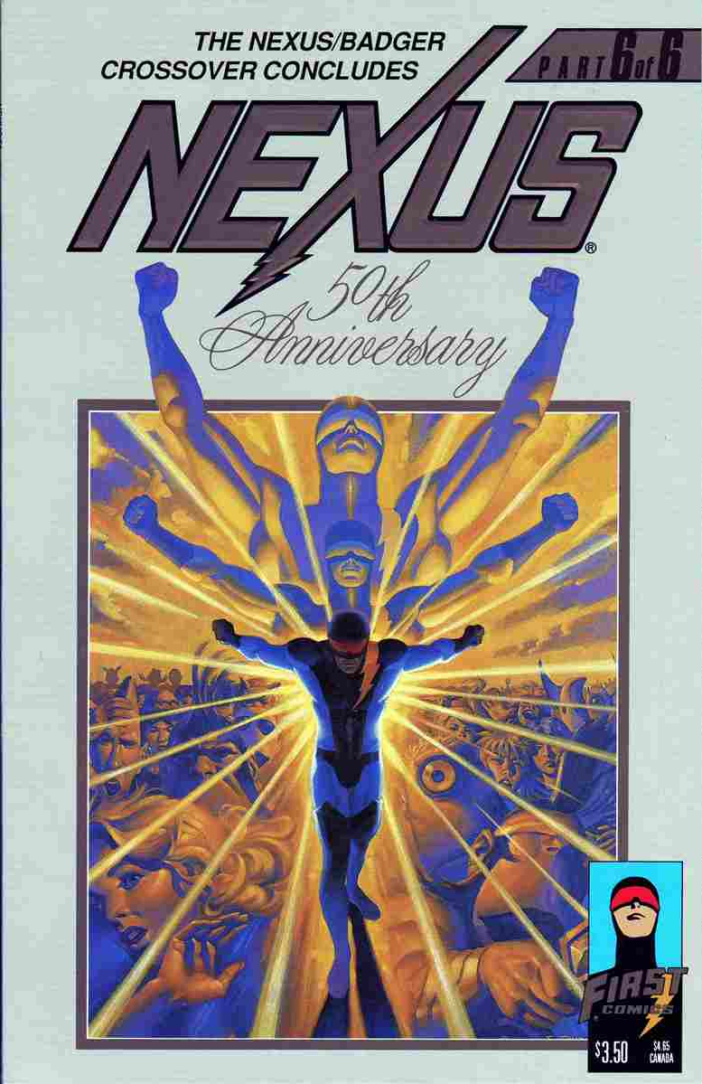 Nexus (Vol. 2) comic issue 50