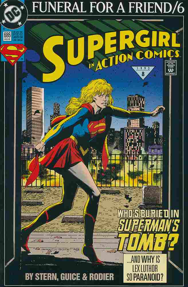 Action Comics comic issue 686