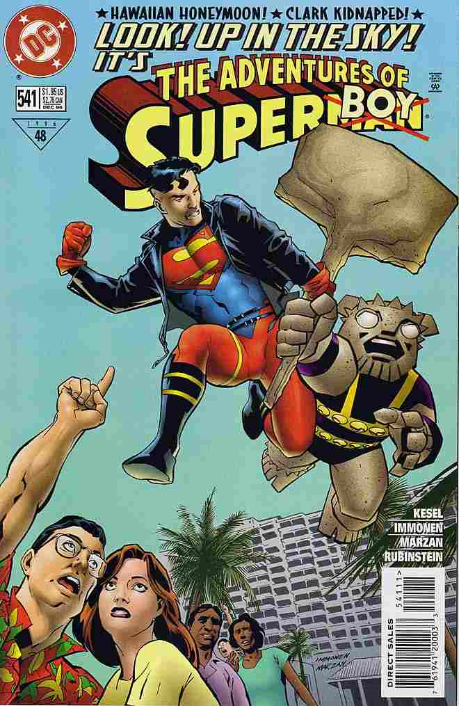Adventures of Superman comic issue 541