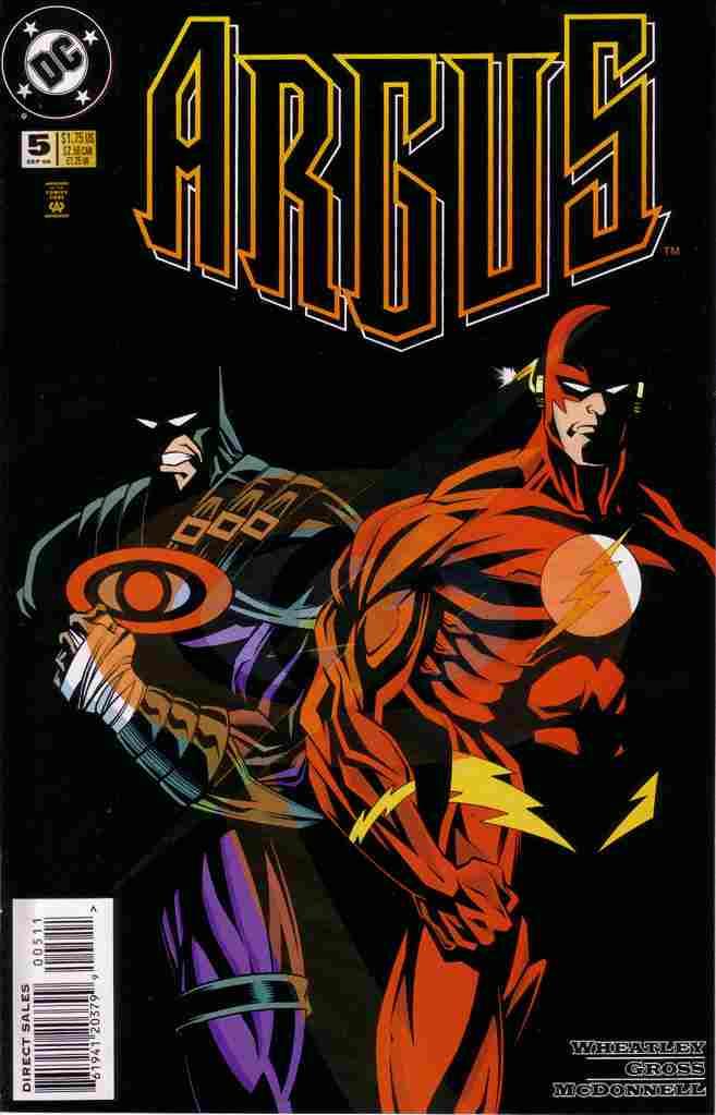 Argus comic issue 5