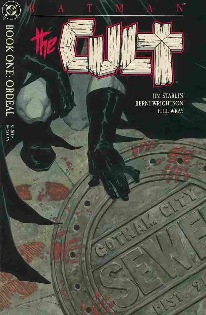 Batman: The Cult comic issue 1