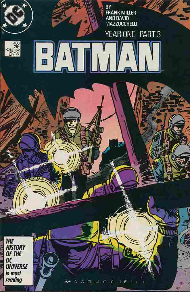 Batman comic issue 406