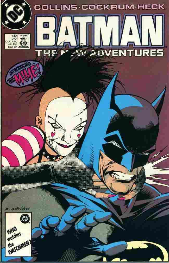Batman comic issue 412