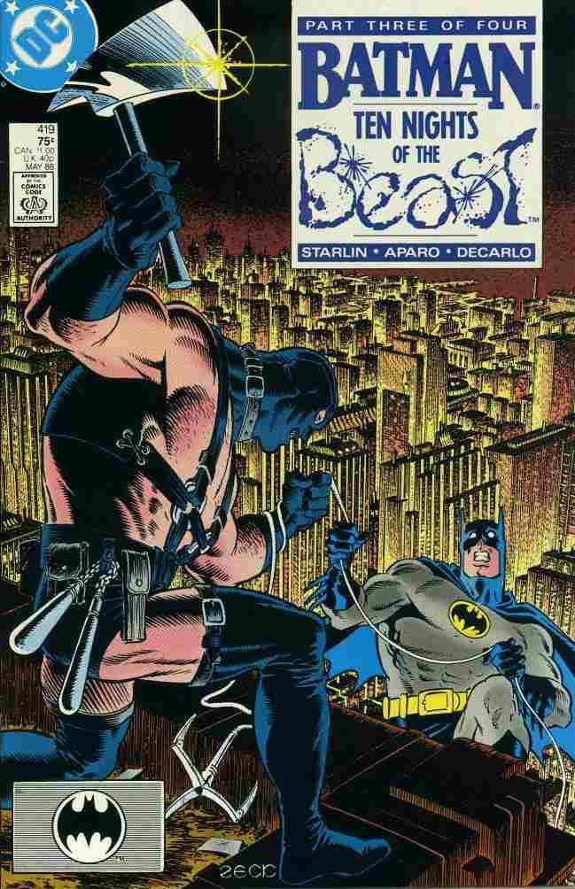 Batman comic issue 419
