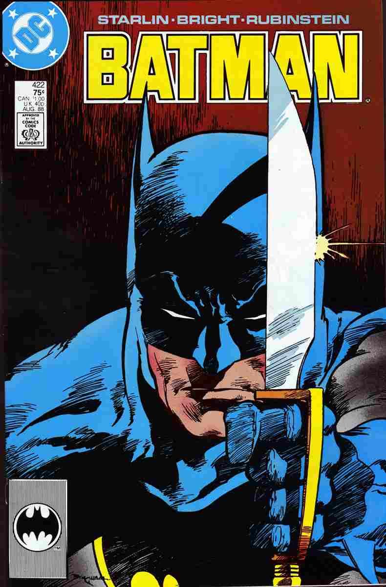 Batman comic issue 422
