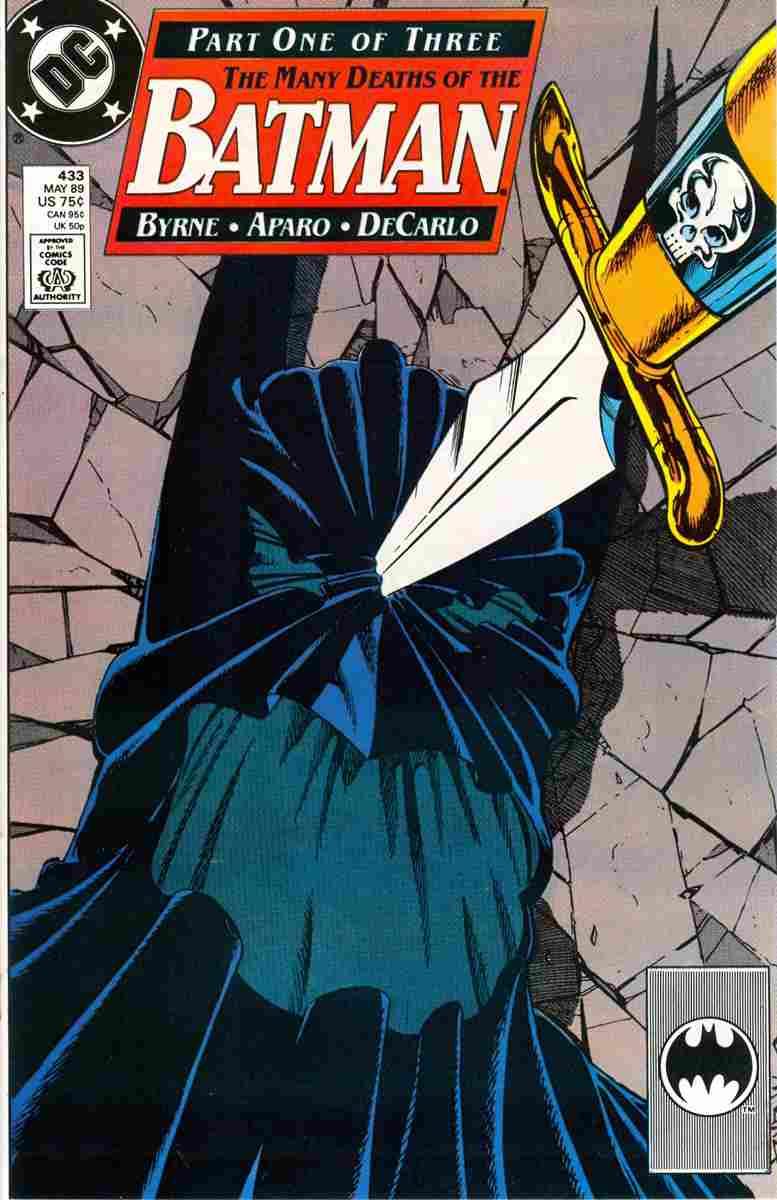 Batman comic issue 433
