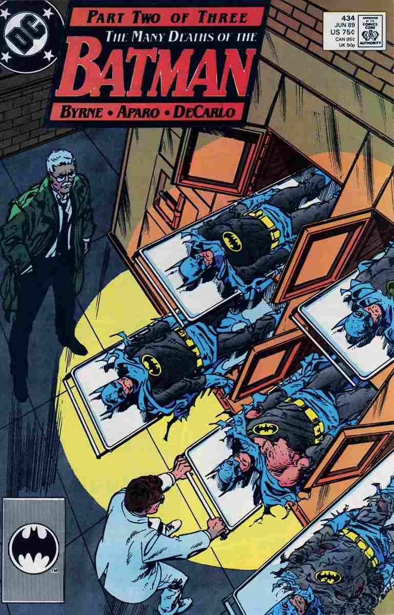 Batman comic issue 434