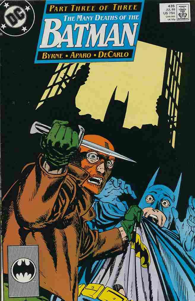 Batman comic issue 435