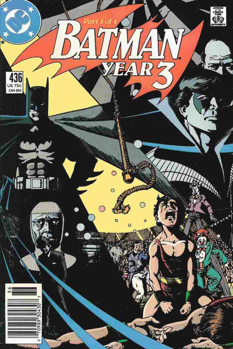 Batman comic issue 436
