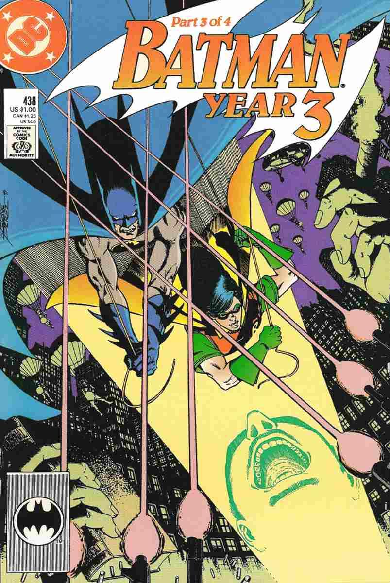 Batman comic issue 438