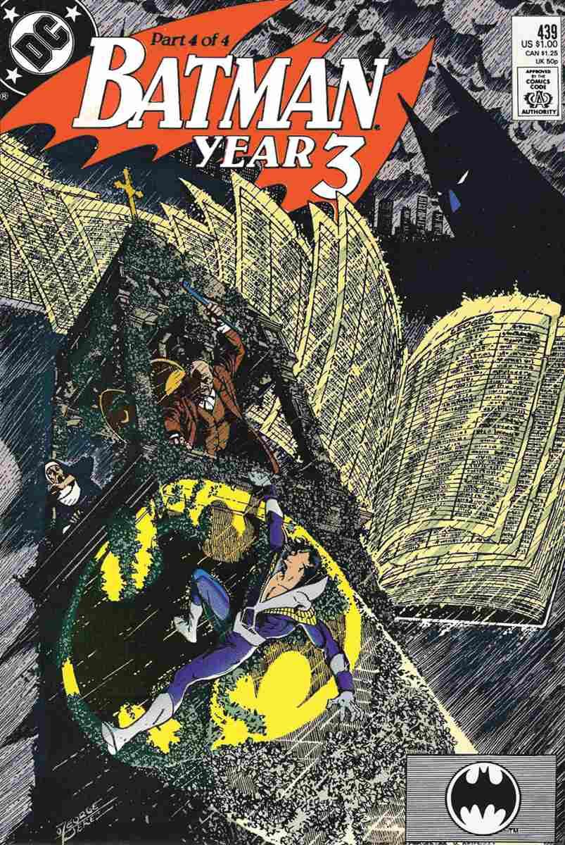 Batman comic issue 439