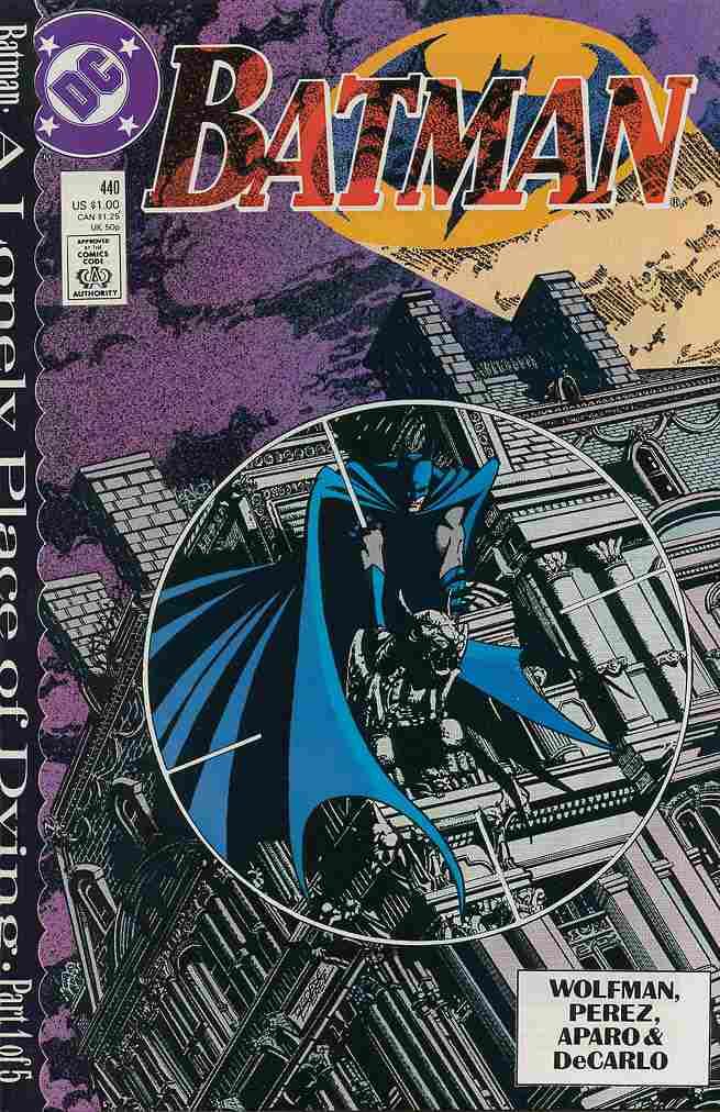 Batman comic issue 440