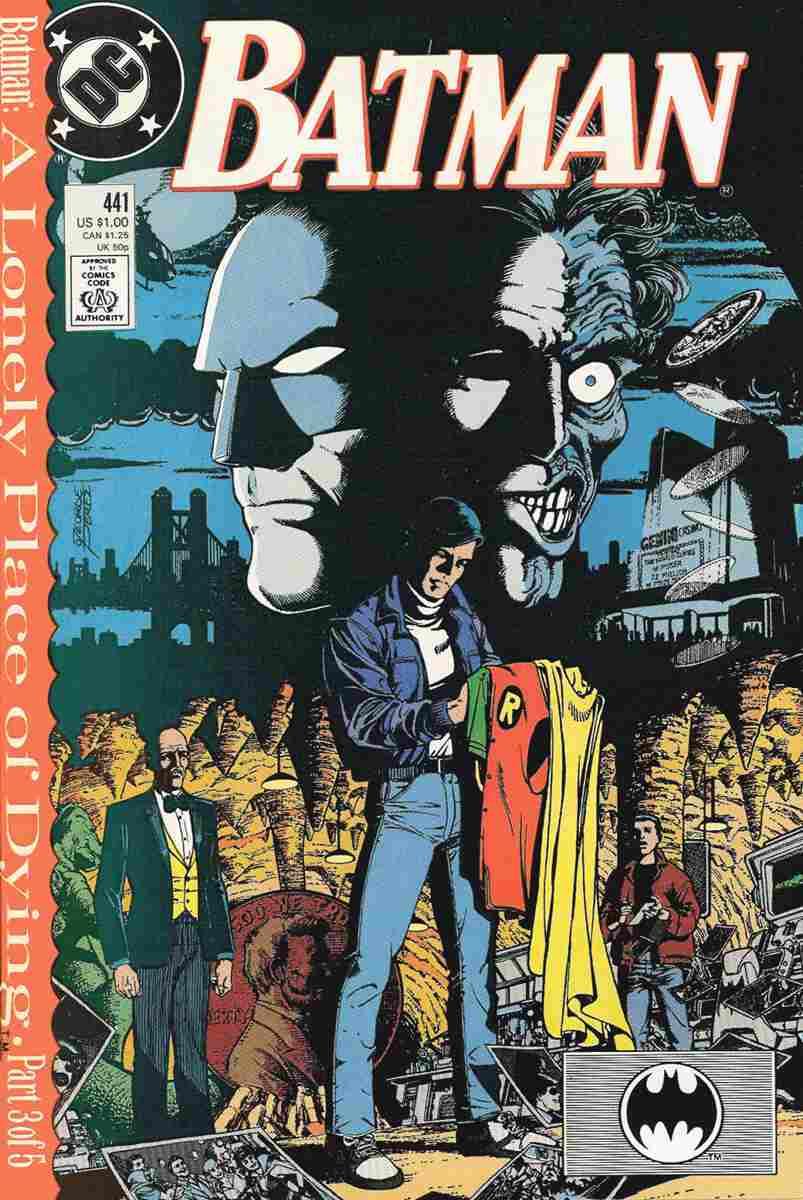 Batman comic issue 441