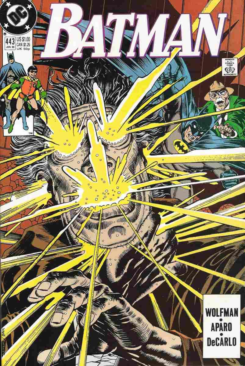 Batman comic issue 443