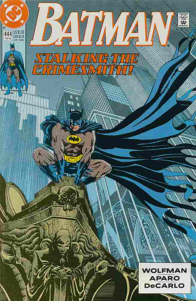 Batman comic issue 444
