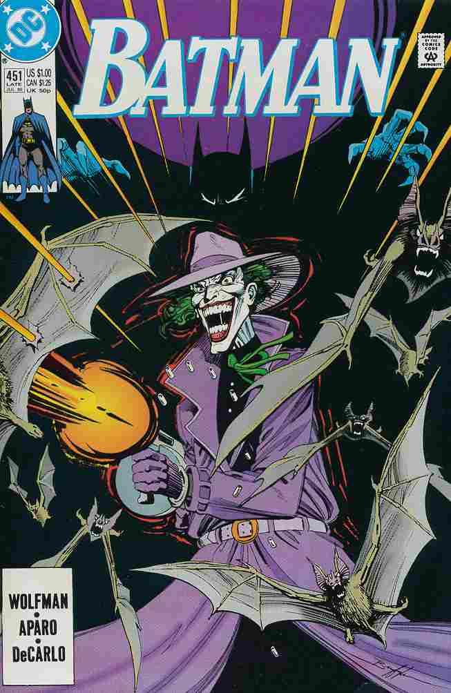 Batman comic issue 451
