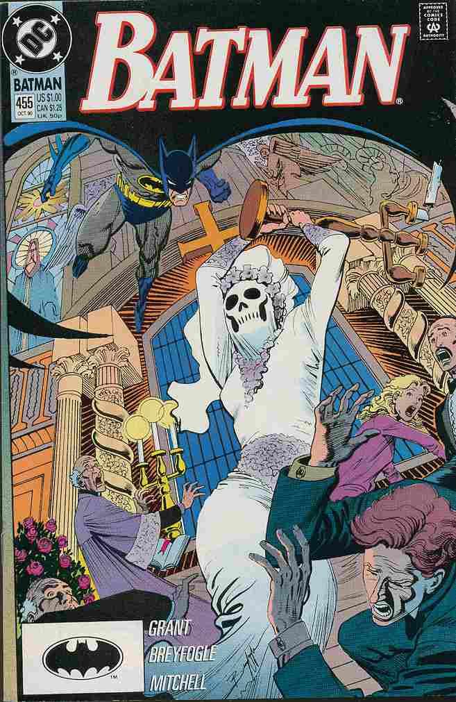 Batman comic issue 455