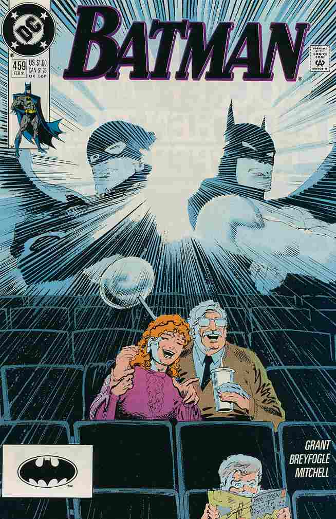 Batman comic issue 459