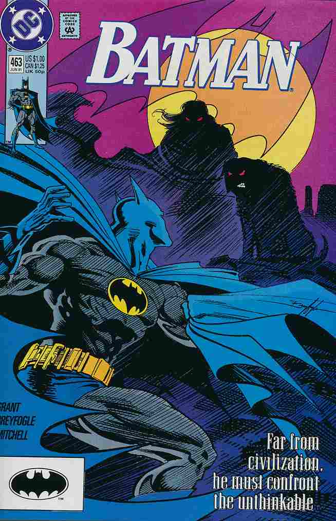Batman comic issue 463