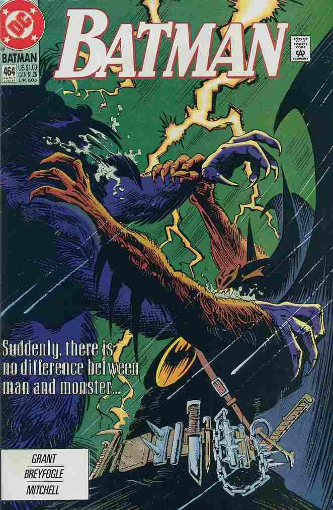 Batman comic issue 464